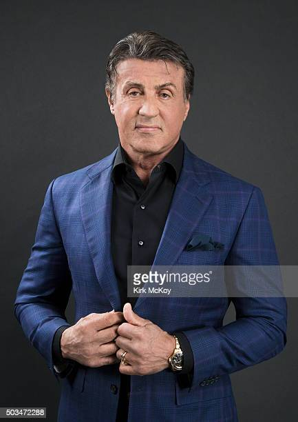 Actor Sylvester Stallone is photographed for Los Angeles Times on November 14 2015 in Los Angeles California PUBLISHED IMAGE CREDIT MUST READ Kirk...