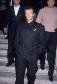 Actor Sylvester Stallone on December 7 1988 at the Twenty/20 Club in Century City California