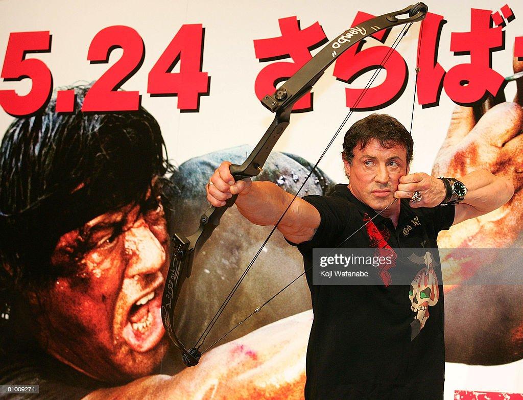 'Rambo' Press Conference : News Photo