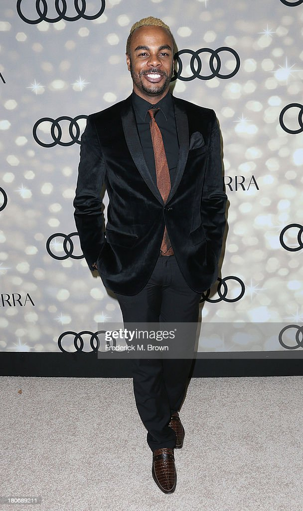 Actor T. Ashanti Mozelle attends Audi and Altuzarra's Primetime Emmy Awards Week 2013 Kick-Off Party at Cecconi's Restaurant on September 15, 2013 in Los Angeles, California.