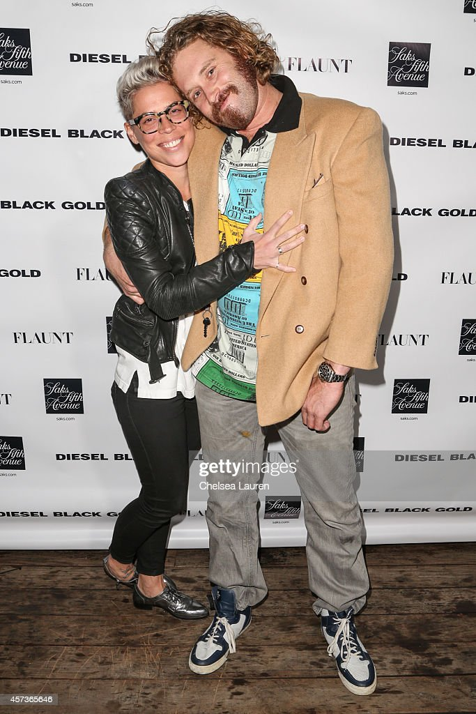 Actor T J Miller attends the Diesel Black Gold at Saks Fifth Avenue Launch and Flaunt Magazine 15th anniversary celebration party at SIXTY Beverly...