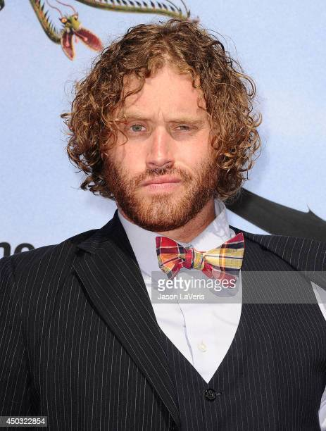 Actor T J Miller attends the premiere of 'How To Train Your Dragon 2' at Regency Village Theatre on June 8 2014 in Westwood California