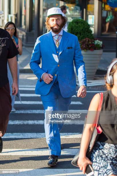 Actor T J Miller is seen in the West Village on June 21 2017 in New York City