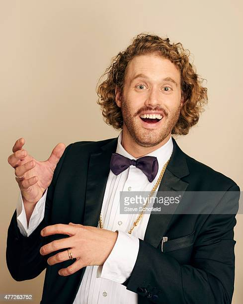 Actor T J Miller poses for a portrait during the 5th Annual Critics' Choice Television Awards at The Beverly Hilton Hotel on May 31 2015 in Beverly...