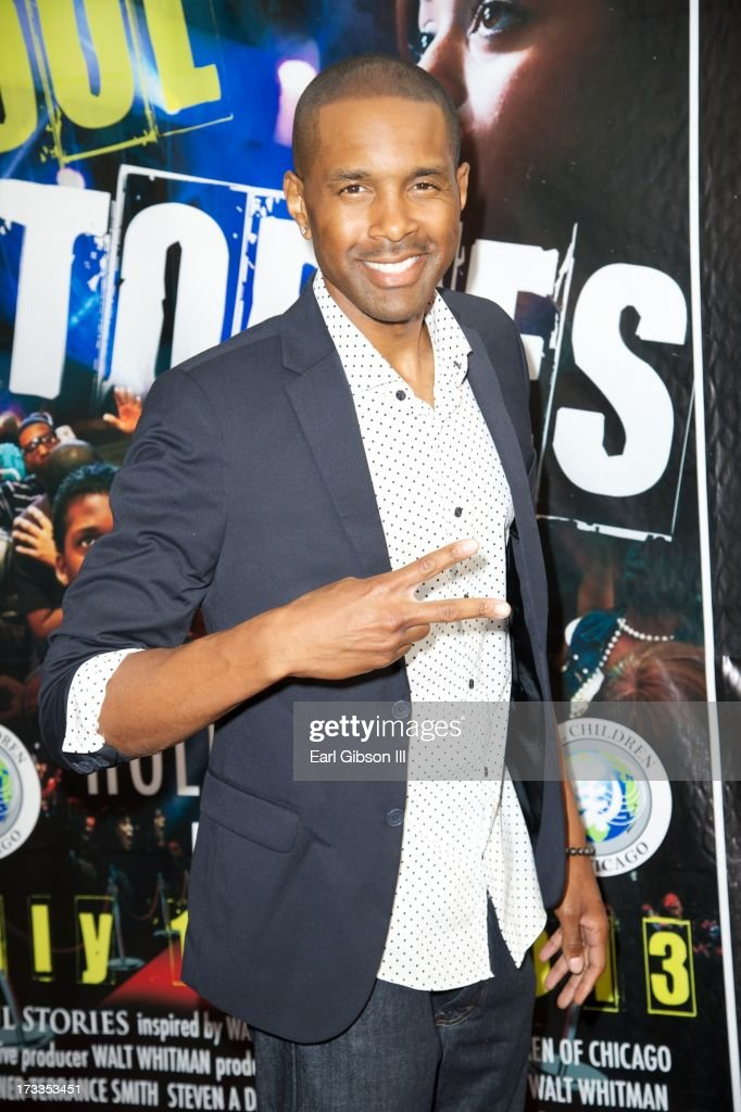 Actor 'T' Shaun Barrett attends the premiere of 'Soul Children Of Chicago' at Historic American Legion - Post 43 on July 11, 2013 in Los Angeles, California.