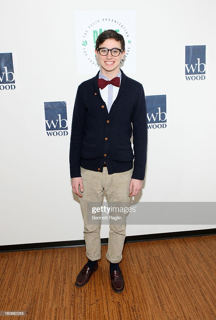 Actor Tad Gristedes attends 'Dance This Way' Benefit Dance-A-Thon kick off party at WB Wood on February 28, 2013 in New York City.