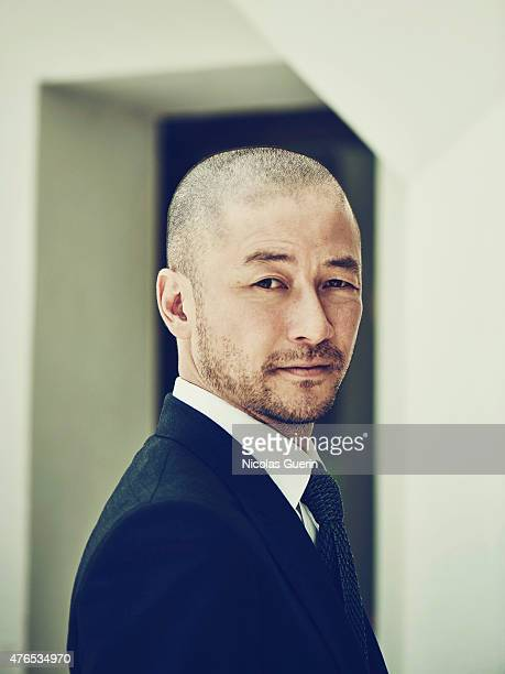 Actor Tadanobu Asano is photographed for Self Assignment on May 15 2015 in Cannes France