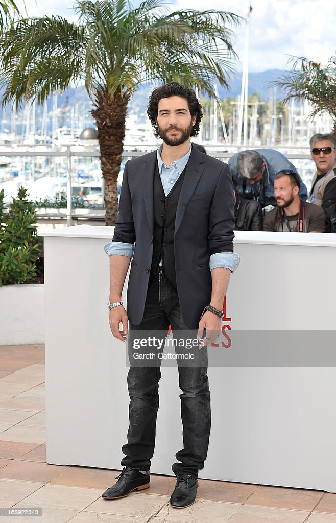 Actor <a gi-track='captionPersonalityLinkClicked' href=/galleries/search?phrase=Tahar+Rahim&family=editorial&specificpeople=5856944 ng-click='$event.stopPropagation()'>Tahar Rahim</a> attends 'Le Passe' photocall during the 66th Annual Cannes Film Festival at the Palais des Festivals on May 17, 2013 in Cannes, France.