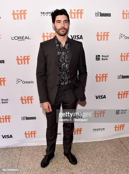 Actor Tahar Rahim attends the 'Daguerrotype' premiere during the 2016 Toronto International Film Festival at Winter Garden Theatre on September 11...