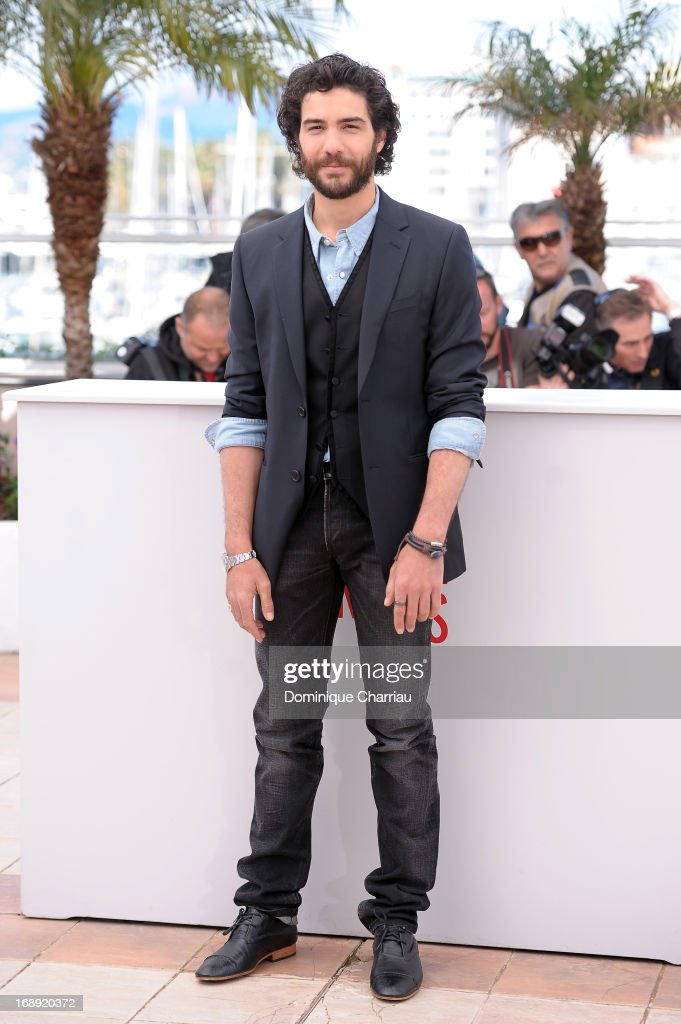 Actor Tahar Rahim attends the photocall for 'Le Passe' (The Past) during the 66th Annual Cannes Film Festival at Palais des Festivals on May 17, 2013 in Cannes, France.