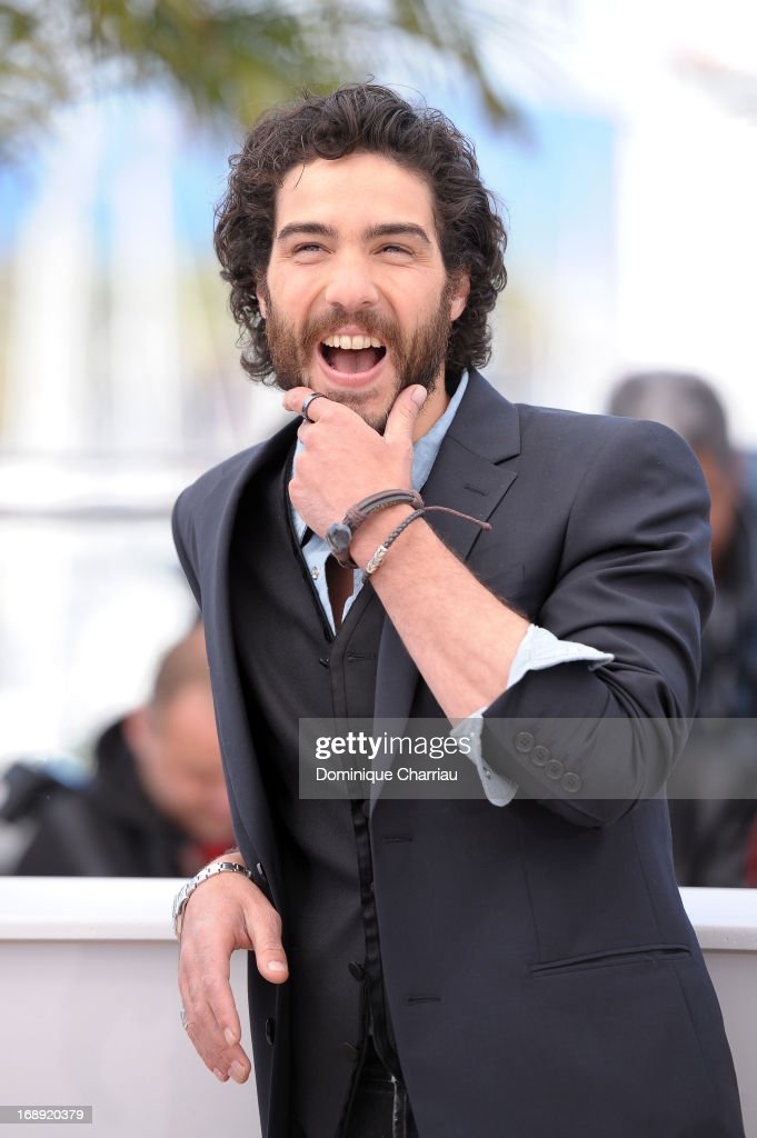 Actor <a gi-track='captionPersonalityLinkClicked' href=/galleries/search?phrase=Tahar+Rahim&family=editorial&specificpeople=5856944 ng-click='$event.stopPropagation()'>Tahar Rahim</a> attends the photocall for 'Le Passe' (The Past) during the 66th Annual Cannes Film Festival at Palais des Festivals on May 17, 2013 in Cannes, France.