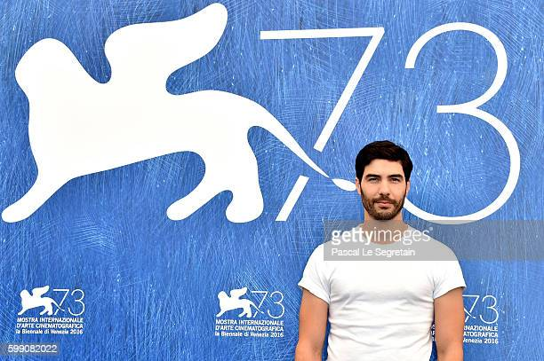 Actor Tahar Rahim attends the photocall of 'Reparer Les Vivants' during the 73rd Venice Film Festival at Palazzo del Casino on September 4 2016 in...