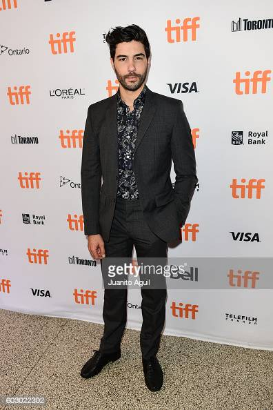 Actor Tahar Rahim attends the premiere of 'Daguerrotype' during the 2016 Toronto International Film Festival at Winter Garden Theatre on September 11...