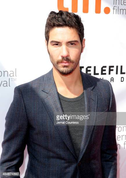 Actor Tahar Rahim attends the 'Samba' premiere during the 2014 Toronto International Film Festival at Roy Thomson Hall on September 7 2014 in Toronto...