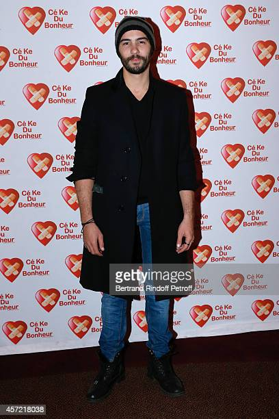 Actor Tahar Rahim attends the Samba Premiere to Benefit 'CekeDuBonheur' which celebrates its 10th anniversary Held at Cinema Gaumont Champs Elysees...