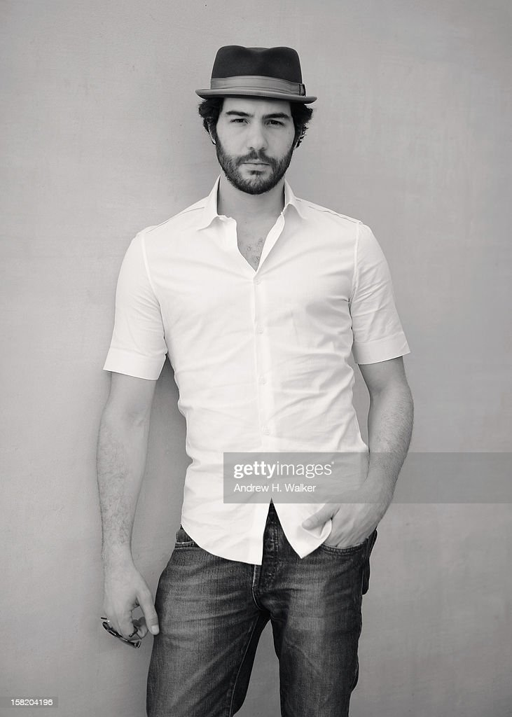 Actor Tahar Rahim during a portrait session on day three of the 9th Annual Dubai International Film Festival held at the Madinat Jumeriah Complex on December 11, 2012 in Dubai, United Arab Emirates.