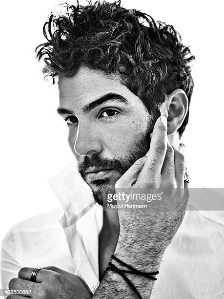 Actor Tahar Rahim is photographed for Icon Magazine on July 18 2014 in Paris France