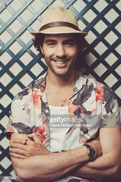 9M0243991 Actor Tahar Rahim is photographed for Paris Match on July 17 2013 in Paris France