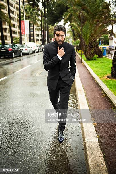 Actor Tahar Rahim is photographed for Paris Match on May 18 2013 in Cannes France