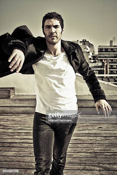 Actor Tahar Rahim is photographed for Self Assignment on March 28 2014 in Paris France