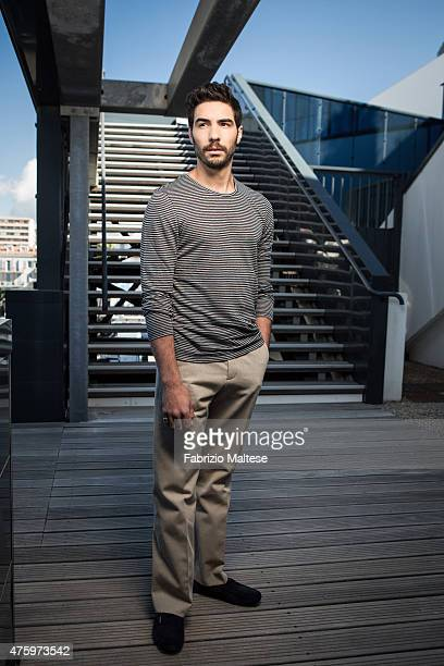 Actor Tahar Rahim is photographed on May 15 2015 in Cannes France