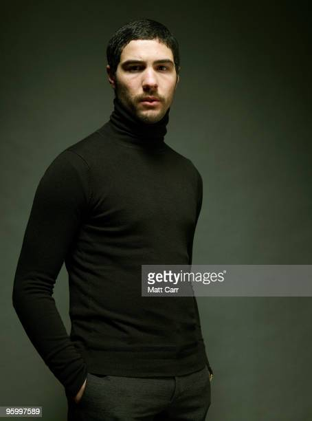 Actor Tahar Rahim poses for a portrait during the 2010 Sundance Film Festival held at the Getty Images portrait studio at The Lift on January 22 2010...