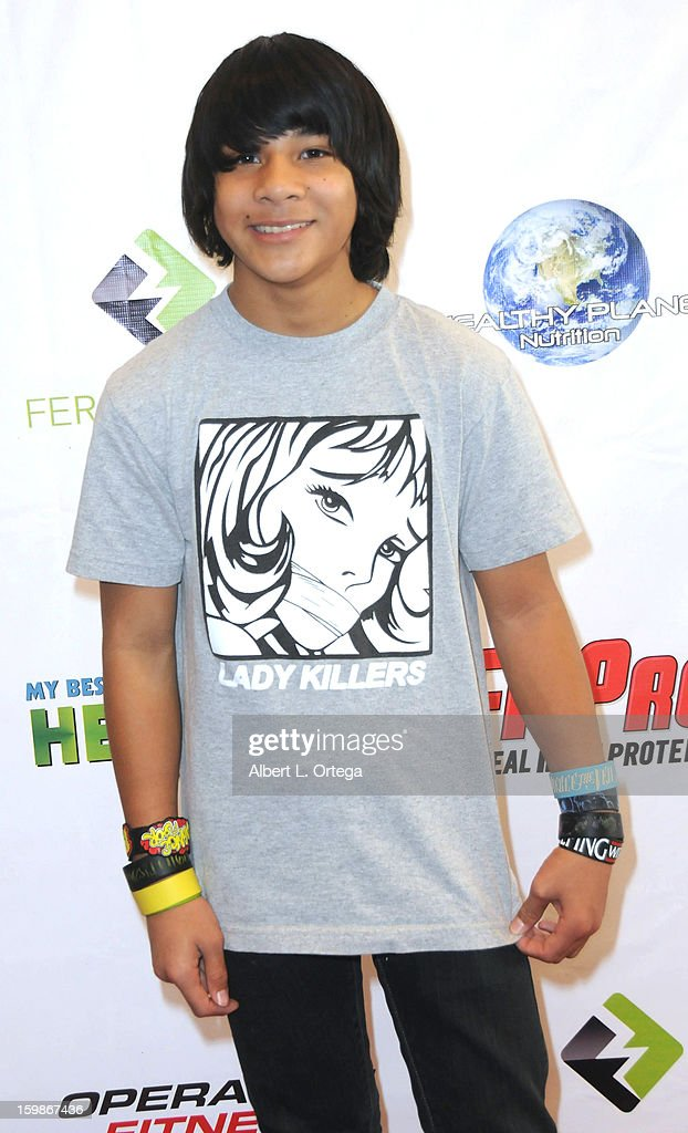 Actor Tai Urban participates in the Red Carpet Health Expo held at The Vitamin Shoppe on January 12, 2013 in Los Angeles, California.