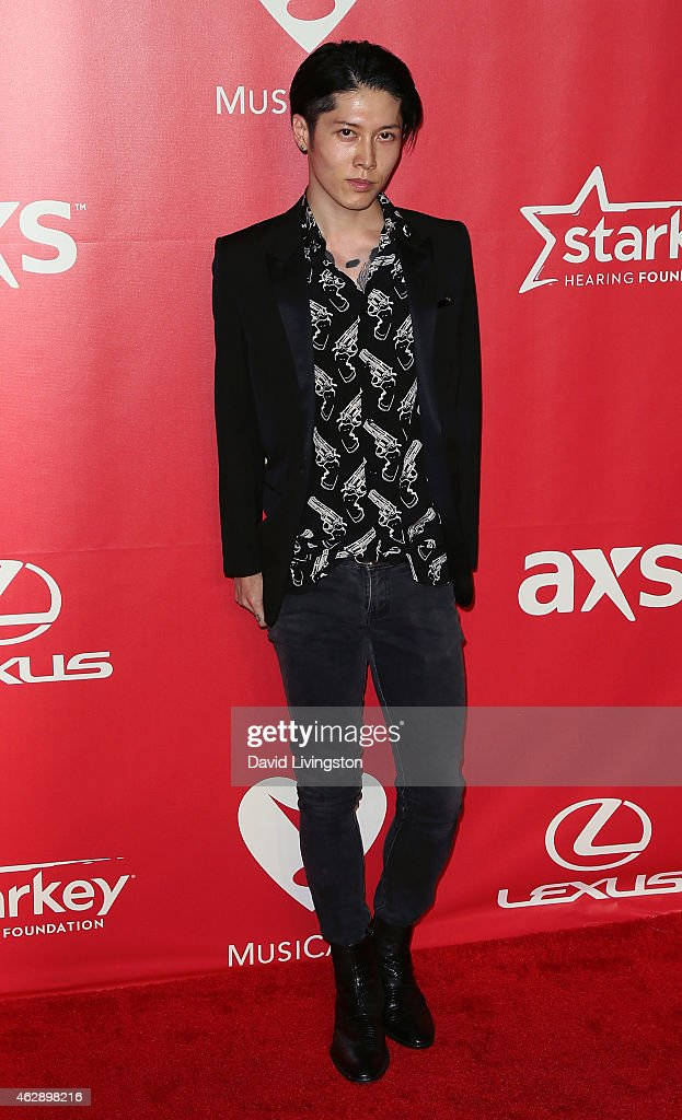 Actor Takamasa Ishihara attends the 2015 MusiCares Person of the Year Gala honoring Bob Dylan at the Los Angeles Convention Center on February 6, 2015 in Los Angeles, California.