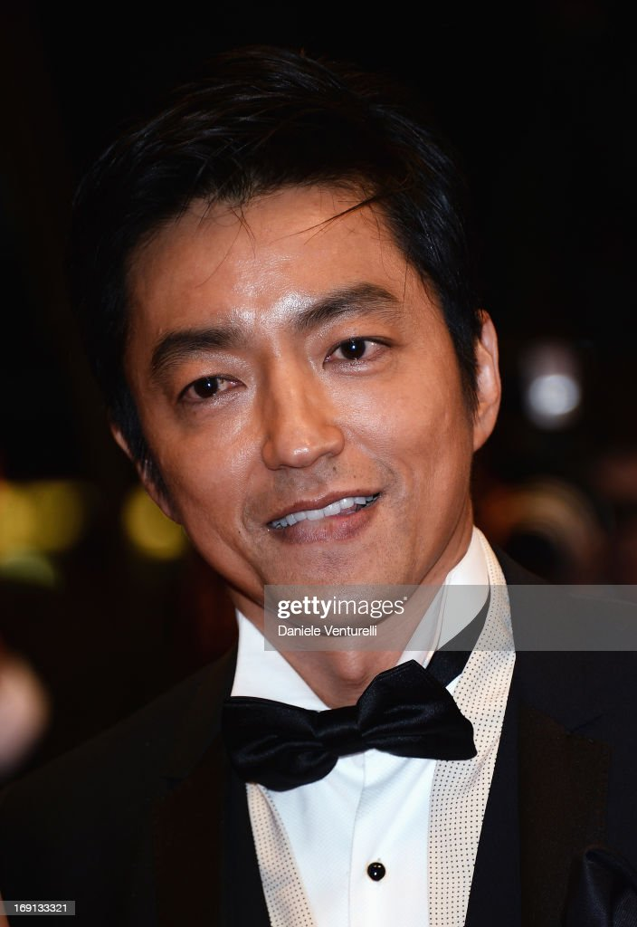 Actor <a gi-track='captionPersonalityLinkClicked' href=/galleries/search?phrase=Takao+Osawa&family=editorial&specificpeople=3968046 ng-click='$event.stopPropagation()'>Takao Osawa</a> attends the Premiere of 'Wara No Tate' (Shield of Straw) during the 66th Annual Cannes Film Festival at the Palais des Festivals on May 20, 2013 in Cannes, France.