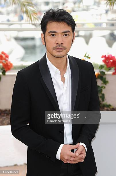 Actor Takeshi Kaneshiro attends the 'Wu Xia' Photocall during the 64th Annual Cannes Film Festival at Palais des Festivals on May 14 2011 in Cannes...