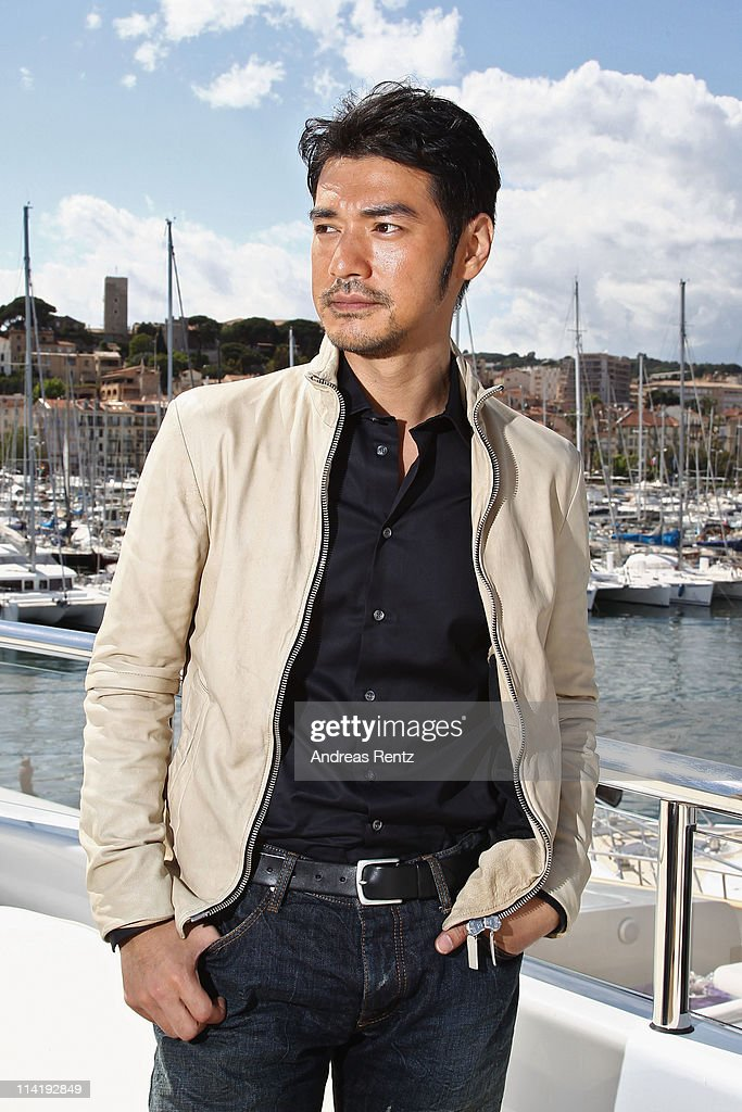 Actor <a gi-track='captionPersonalityLinkClicked' href=/galleries/search?phrase=Takeshi+Kaneshiro&family=editorial&specificpeople=171924 ng-click='$event.stopPropagation()'>Takeshi Kaneshiro</a> poses at the 'Wu Xia' portrait session during the 64th Annual Cannes Film Festival on May 15, 2011 in Cannes, France.