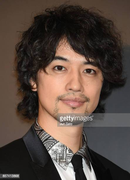 Actor Takumi Saito attends the photocall for Las Vegas Sands at Palace Hotel on October 4 2017 in Tokyo Japan