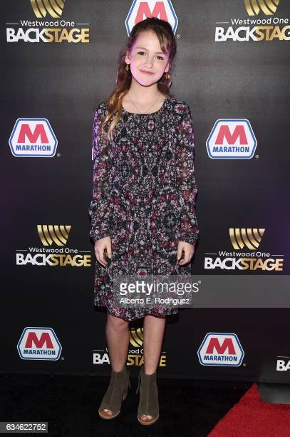 Actor Talitha Bateman attends Backstage at The GRAMMYs Westwood One Radio Remotes during the 59th GRAMMY Awards at STAPLES Center on February 10 2017...