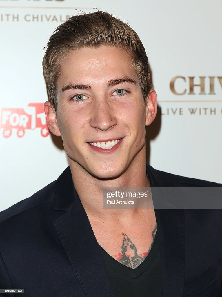 Actor Talon Reid attends the 'Under The Mistletoe' charity event benefiting the Toys For Tots Foundation at the Lexington Social House on December 14, 2012 in Hollywood, California.