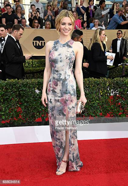 Actor Talulah Riley attends The 23rd Annual Screen Actors Guild Awards at The Shrine Auditorium on January 29 2017 in Los Angeles California 26592_008