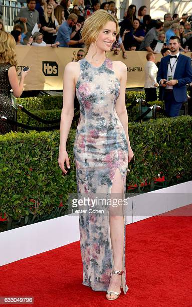 Actor Talulah Riley attends the 23rd Annual Screen Actors Guild Awards at The Shrine Expo Hall on January 29 2017 in Los Angeles California