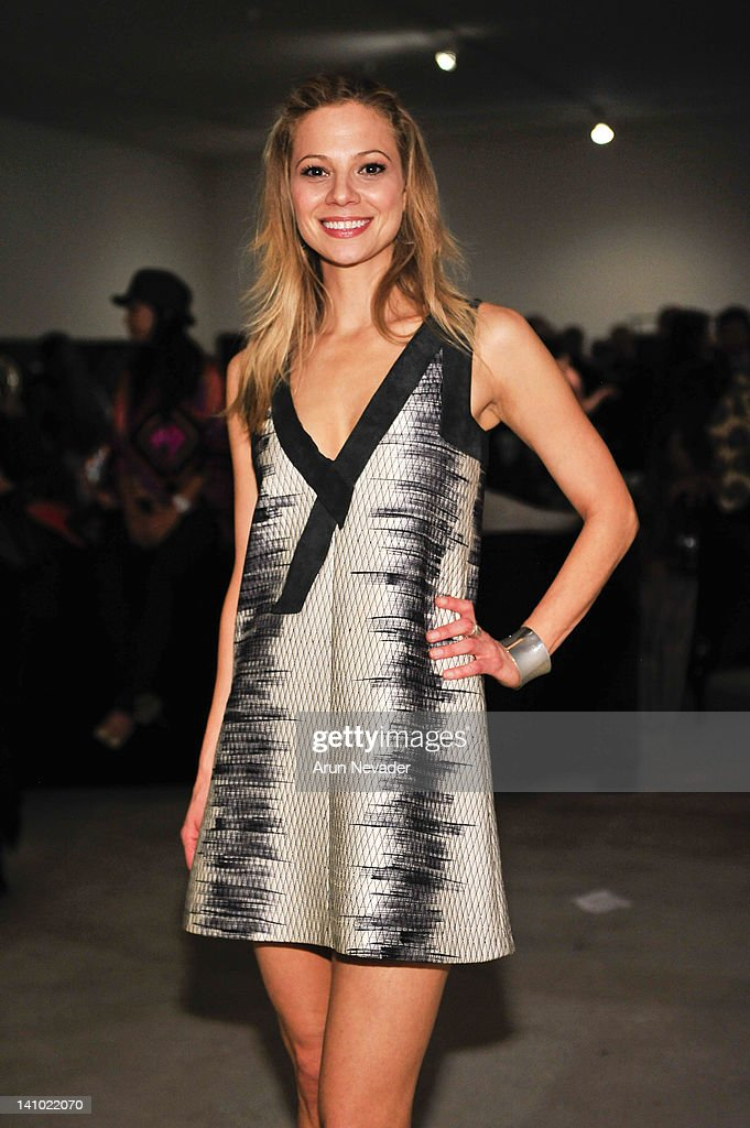 Actor Tamara Braun attends 'Meet The Designer and the Muse' at Ace Gallery on March 8, 2012 in Los Angeles, California.