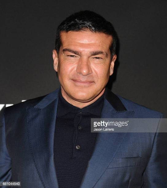 Actor Tamer Hassan attends the premiere of 'Snatch' at Arclight Cinemas Culver City on March 9 2017 in Culver City California