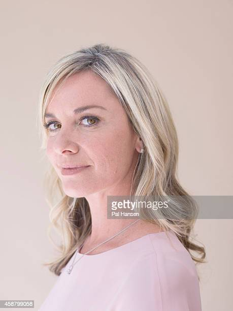 Actor Tamzin Outhwaite is photographed for the Times on July 17 2014 in London England England
