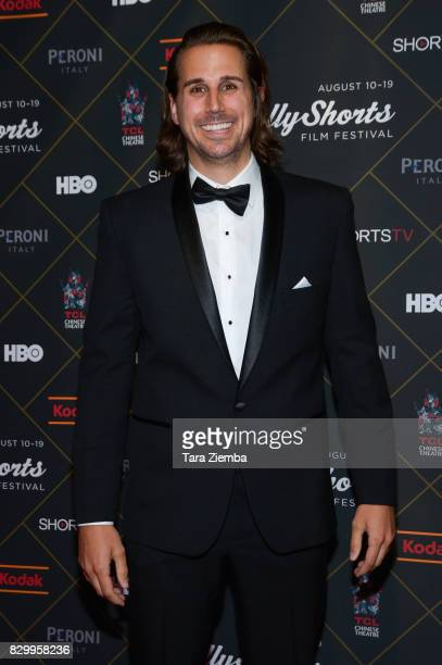 Actor Tanner Anderson attends the 2017 HollyShorts Film Festival Opening Night Gala at TCL Chinese 6 Theatres on August 10 2017 in Hollywood...
