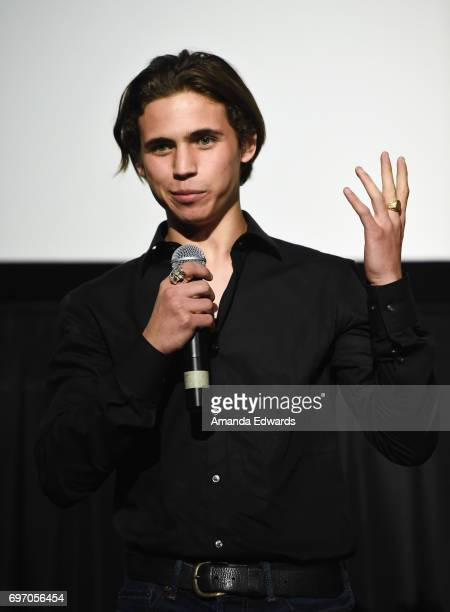 Actor Tanner Buchanan attends the 2017 Los Angeles Film Festival 'Anything' premiere at the ArcLight Santa Monica on June 17 2017 in Santa Monica...