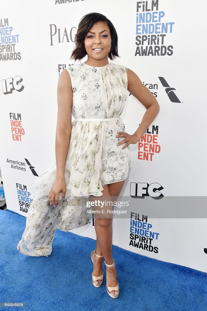 Actor Taraji P. Henson attends the 2017 Film Independent Spirit Awards at the Santa Monica Pier on February 25, 2017 in Santa Monica, California.