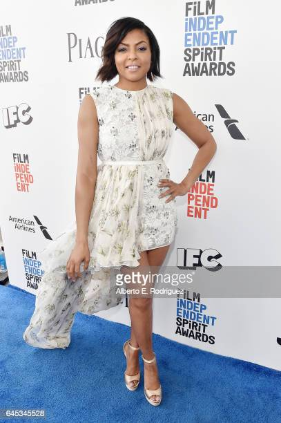 Actor Taraji P Henson attends the 2017 Film Independent Spirit Awards at the Santa Monica Pier on February 25 2017 in Santa Monica California