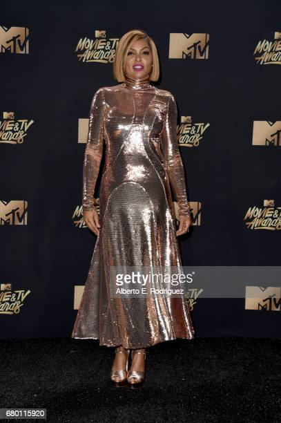 Actor Taraji P Henson attends the 2017 MTV Movie And TV Awards at The Shrine Auditorium on May 7 2017 in Los Angeles California
