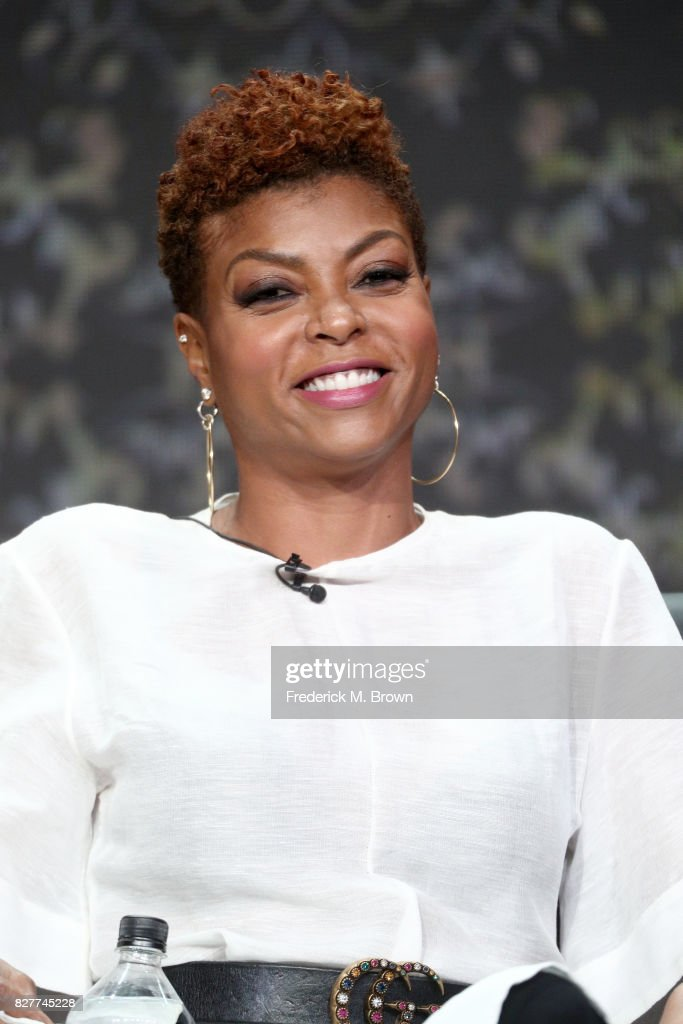 Actor Taraji P. Henson of 'Empire' speaks onstage during the FOX portion of the 2017 Summer Television Critics Association Press Tour at The Beverly Hilton Hotel on August 8, 2017 in Beverly Hills, California.