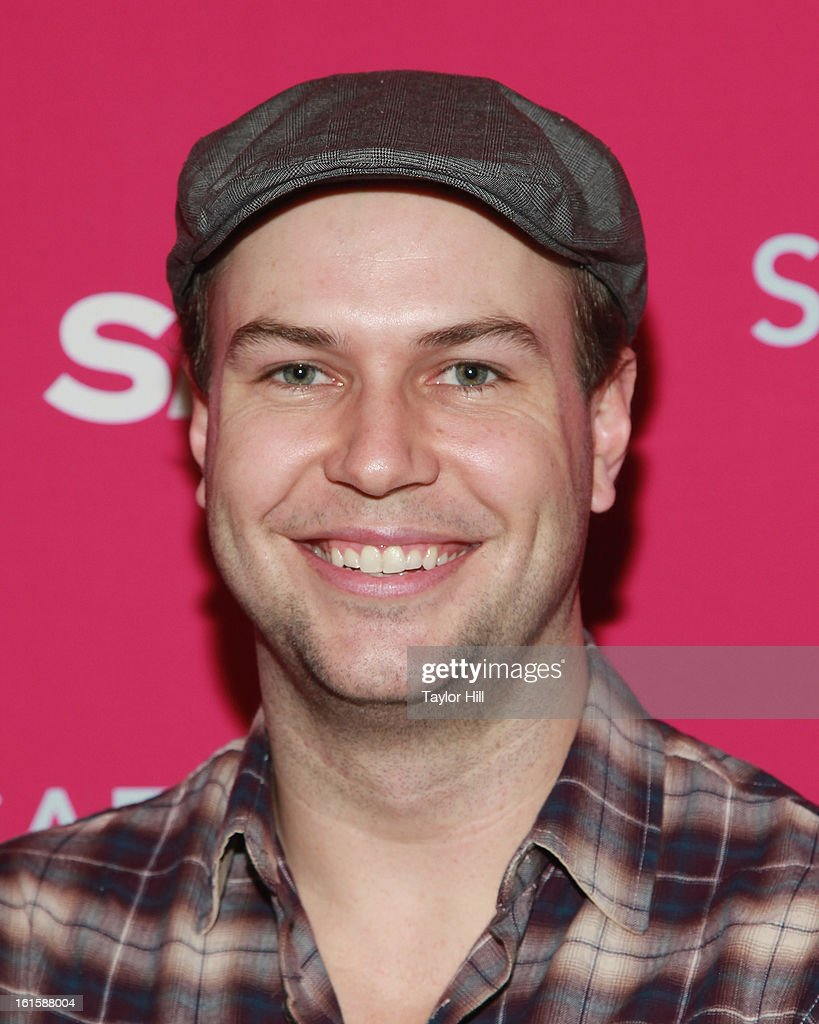 Actor <a gi-track='captionPersonalityLinkClicked' href=/galleries/search?phrase=Taran+Killam&family=editorial&specificpeople=3798325 ng-click='$event.stopPropagation()'>Taran Killam</a> attends a New York screening of 'Safe Haven' at Landmark Sunshine Cinema on February 11, 2013 in New York City.