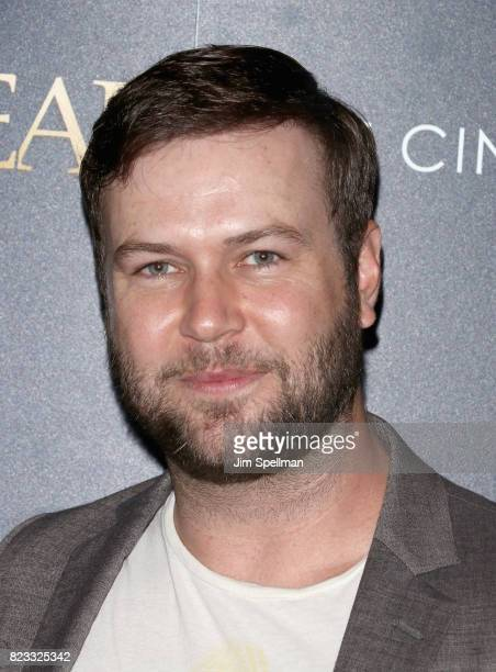 Actor Taran Killam attends the screening of 'Brigsby Bear' hosted by Sony Pictures Classics and The Cinema Society at Landmark Sunshine Cinema on...