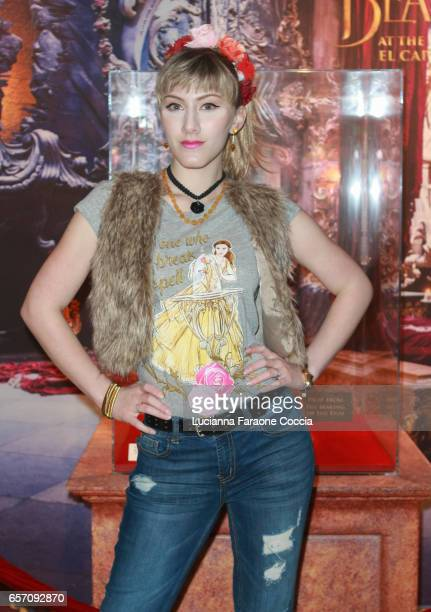 Actor TaraNicole Azarian attends Red Walk special screening of Disney's 'Beauty And The Beast' at El Capitan Theatre on March 23 2017 in Los Angeles...