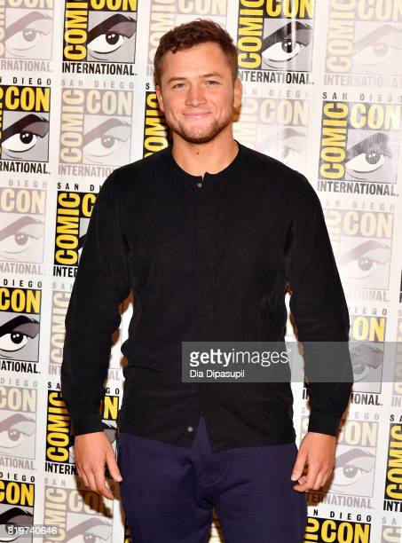 Actor Taron Egerton at the 'Kingsman The Secret Service' press line at Hilton Bayfront during ComicCon International 2017 on July 20 2017 in San...