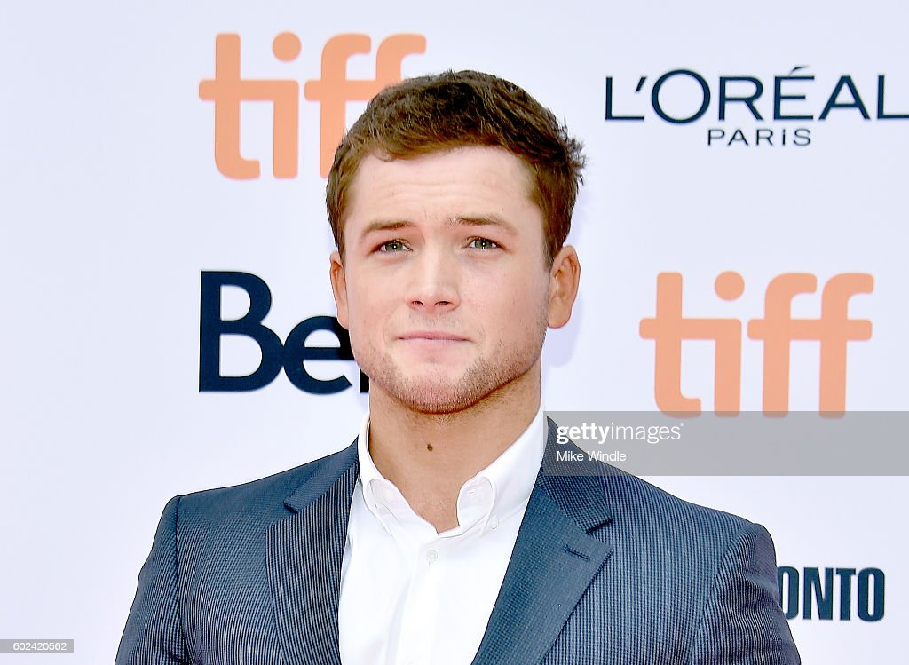 Actor Taron Egerton attends the 'Sing' premiere during the 2016 Toronto International Film Festival at Princess of Wales Theatre on September 11, 2016 in Toronto, Canada.